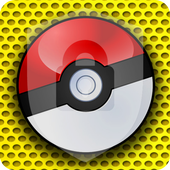 Poke Ball Game Ball Toy Security App Lock icon