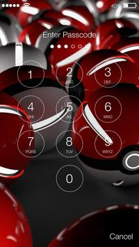 Poke Ball Game Ball Toy Security App Lock apk screenshot
