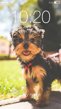 Yorkshire Terrier Dog App Lock poster