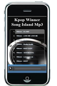 Kpop Winner Song Island Mp3 apk screenshot