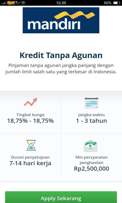 Kredit Dana Instant Pinjaman Jumlah Besar Online For Android Apk
