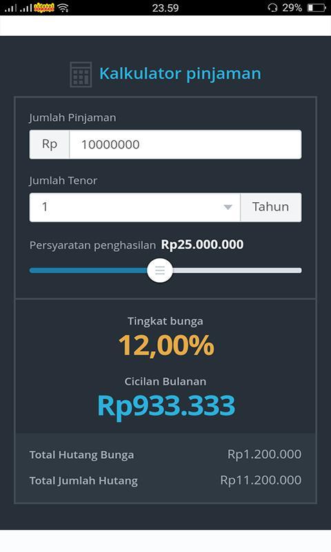 Kredit Dana Instant Pinjaman Jumlah Besar Online For Android Apk Download