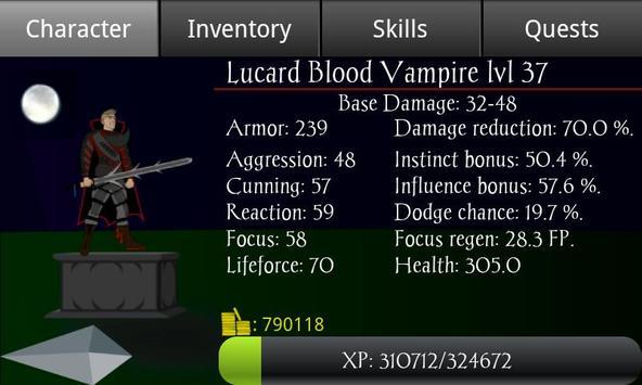 Vampire's Fall screenshot 2