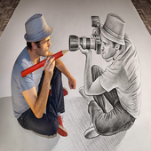 3D Art - 3D Drawing icon