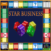 Business star icon