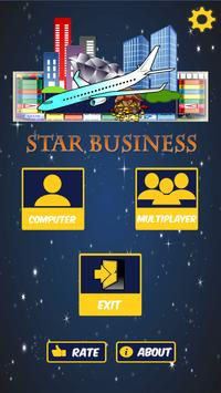 Business star poster