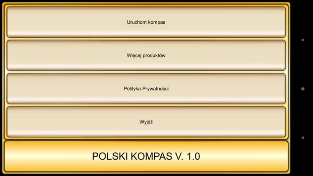 Polski Kompas screenshot 1