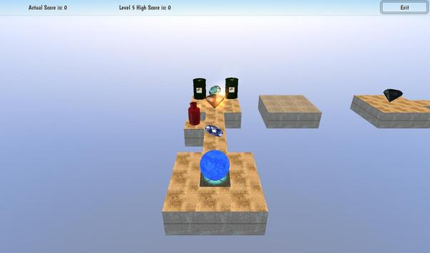 Roll Meth Ball 3D screenshot 3