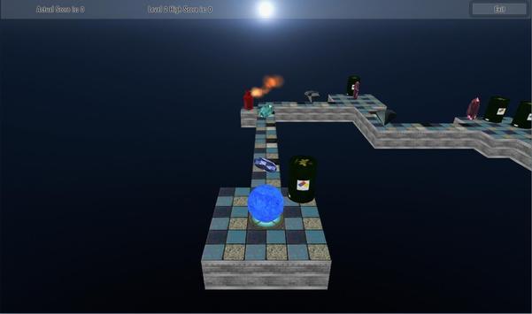 Roll Meth Ball 3D screenshot 1