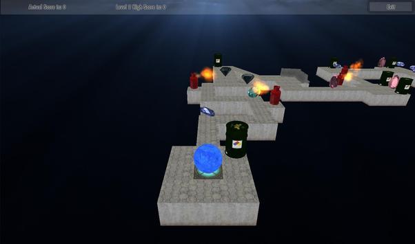 Roll Meth Ball 3D screenshot 2