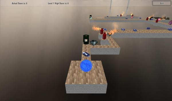 Roll Meth Ball 3D screenshot 7