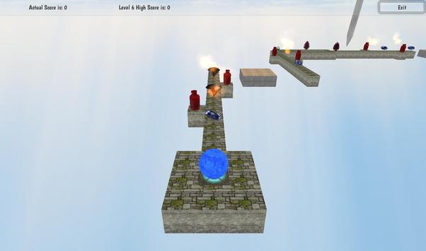 Roll Meth Ball 3D screenshot 4