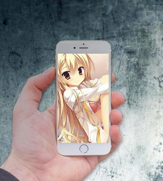 Cute Anime Girls Wallpapers poster