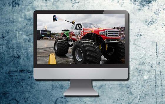 Monster Trucks Theme apk screenshot