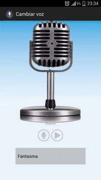 Cambiar mi voz screenshot 3