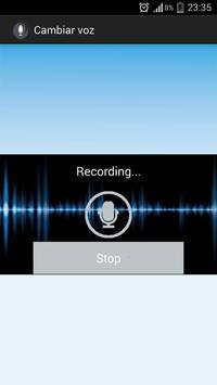 Cambiar mi voz screenshot 2