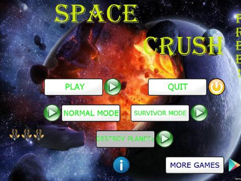 Space Crush Free! screenshot 4