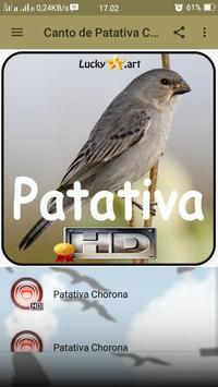Canto de Patativa Chorona screenshot 1