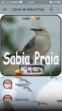 Canto de Sabia Praia apk screenshot