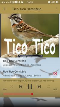 Canto de Tico Tico Cemitério screenshot 4