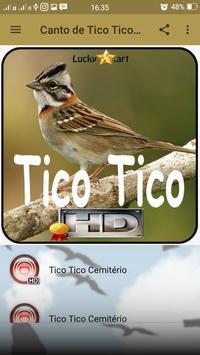 Canto de Tico Tico Cemitério screenshot 1