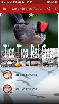 Canto de Tico Tico Rei Cinza screenshot 1