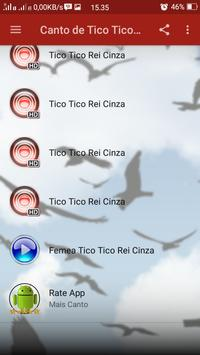 Canto de Tico Tico Rei Cinza screenshot 2