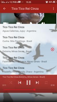Canto de Tico Tico Rei Cinza screenshot 3