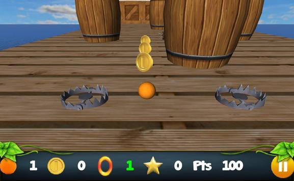 Rolling Orange FREE screenshot 1