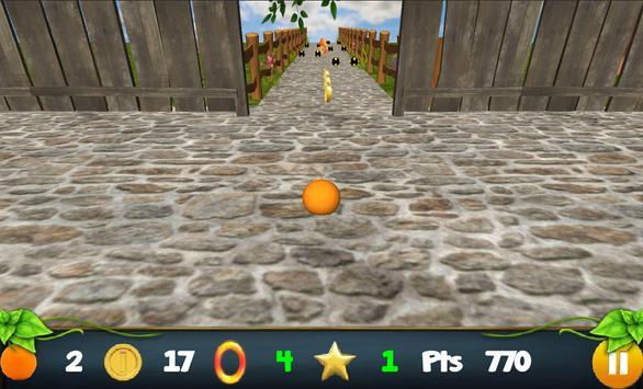 Rolling Orange FREE screenshot 2