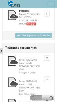 Lunis Contabilidade & clientes screenshot 3