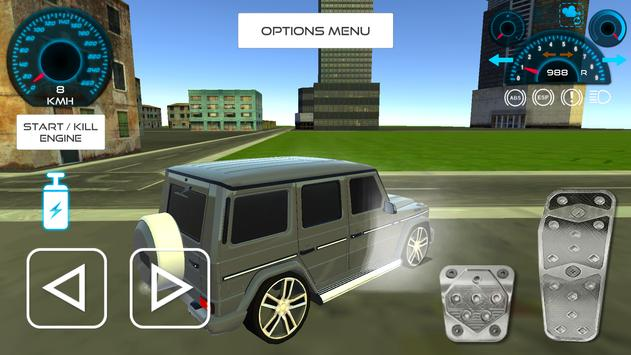 Luxury Jeep Driving In The City apk screenshot