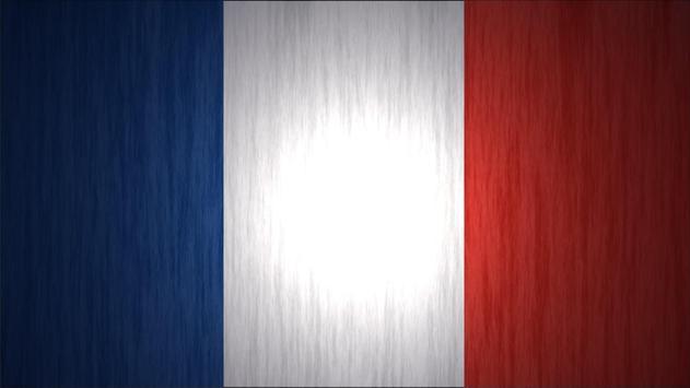France Flag Live Wallpaper poster