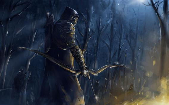Medieval Archer Live Wallpaper Apk Screenshot
