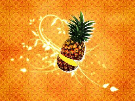 Pineapple Live Wallpaper screenshot 2