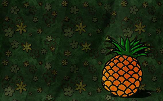 Pineapple Live Wallpaper screenshot 3