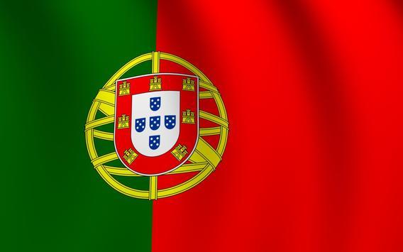 Portugal Flag Live Wallpaper poster