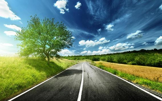 Road HD Live Wallpaper apk screenshot