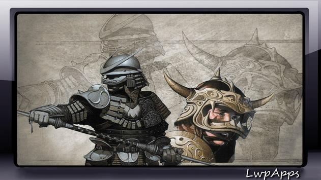 Samurai Wallpaper screenshot 3