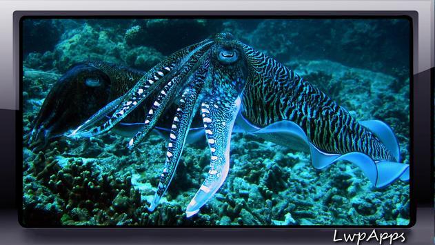 Octopus Wallpaper screenshot 2