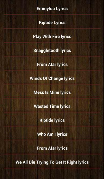 Vance Joy Song Lyrics for Android - APK Download