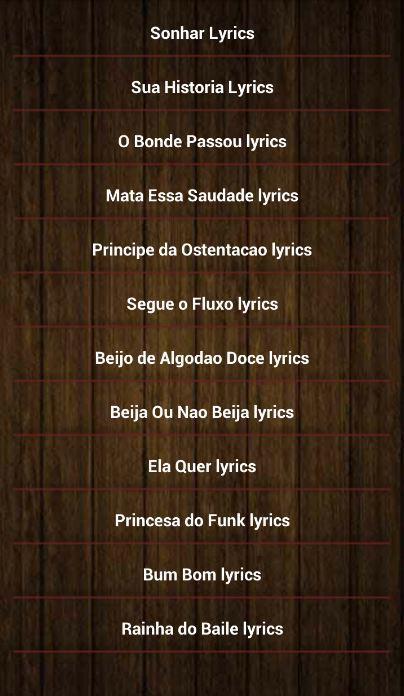 Mc Gui Sonhar Lyrics For Android Apk Download Um sonho que leva a gente acreditar. mc gui sonhar lyrics for android apk