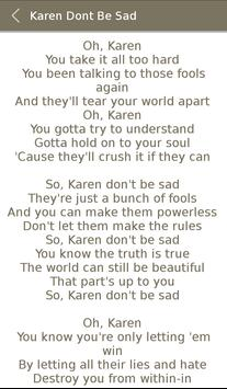 Miley Cyrus Album Songs Lyrics screenshot 2