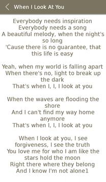 Miley Cyrus Album Songs Lyrics screenshot 6