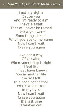 Miley Cyrus Album Songs Lyrics screenshot 7