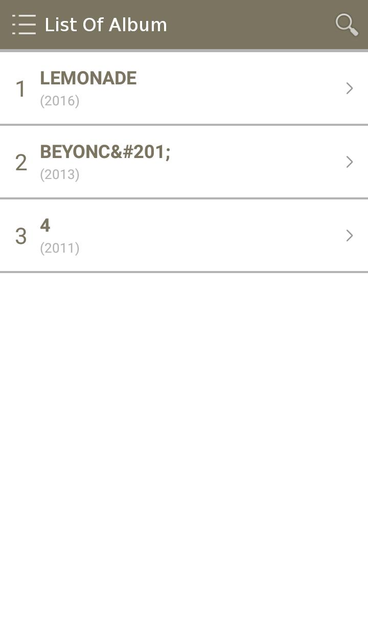 All Beyonce Album Songs Lyrics for Android - APK Download