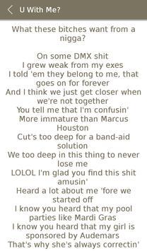 All Drake Album Songs Lyrics screenshot 18