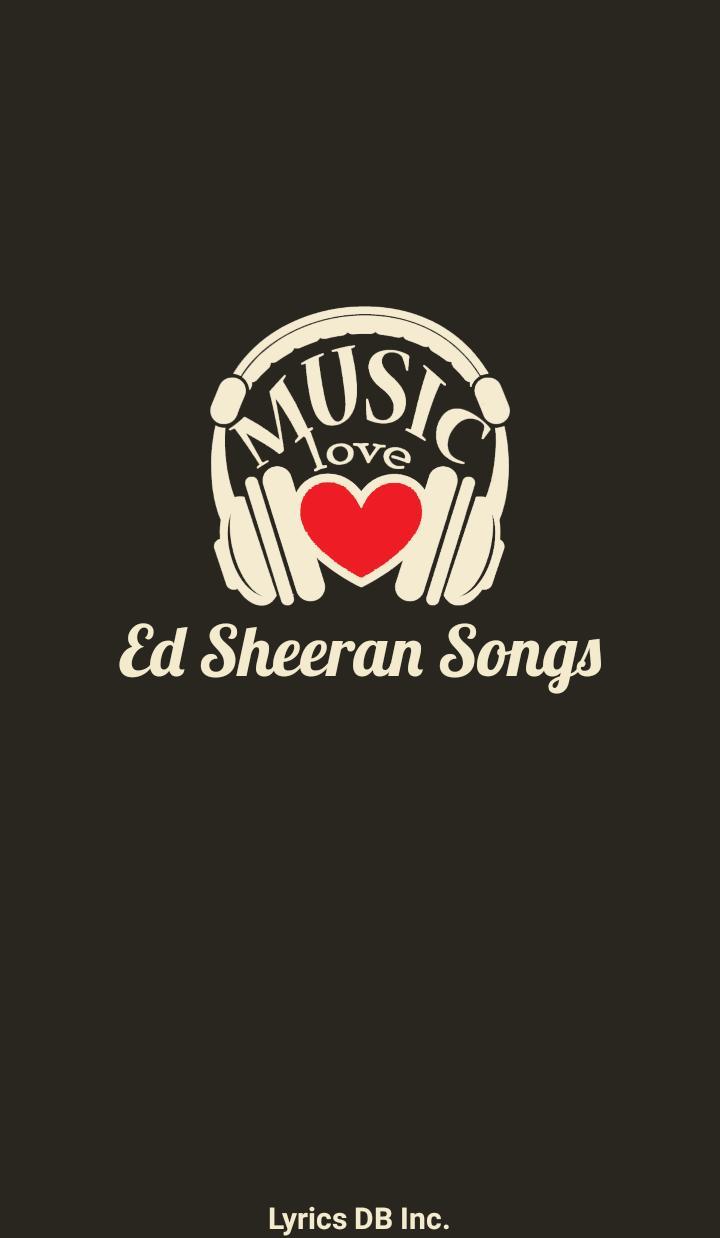 Ed Sheeran Album Songs Lyrics for Android - APK Download