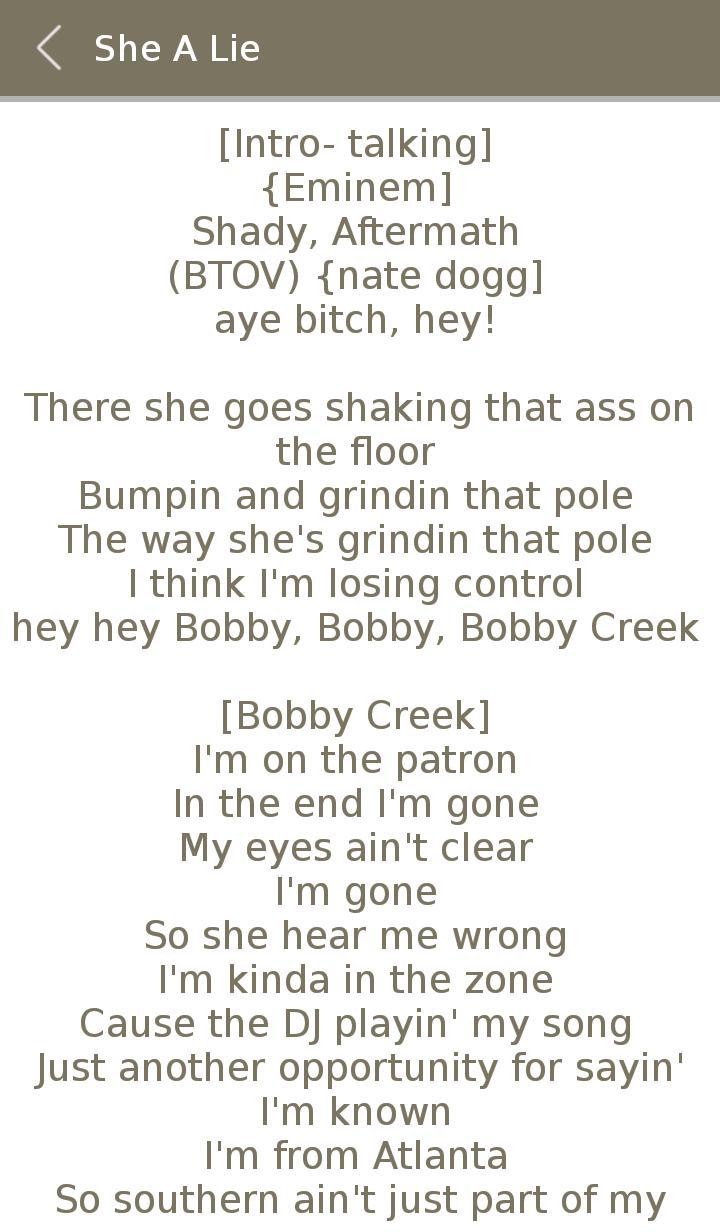 All Eminem Album Songs Lyrics for Android - APK Download