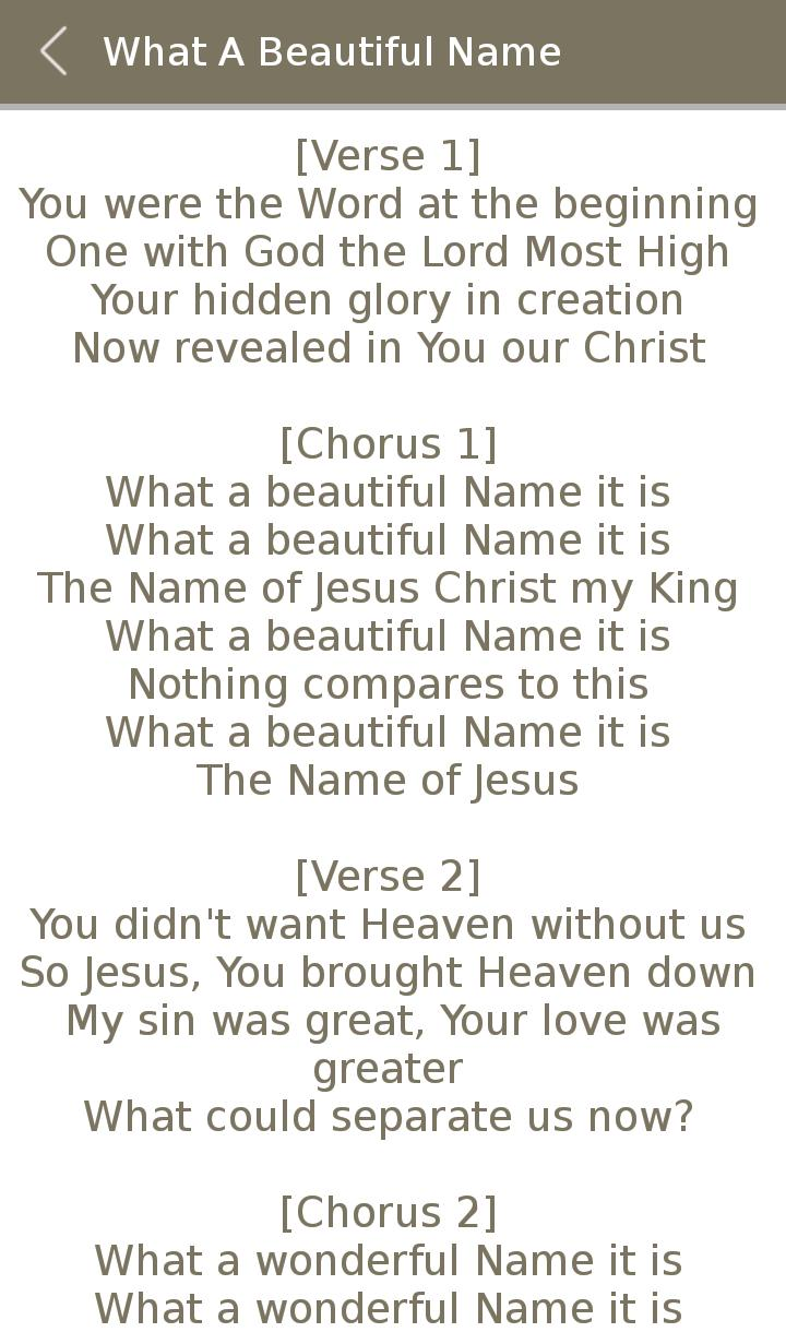 All Hillsong Album Songs Lyric for Android - APK Download